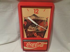 Coca cola clock  battery operated