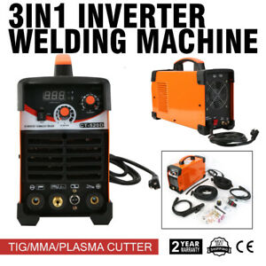 Ct520d 3in1 Dc Welding Arc Welder Tig Plasma Cutter 50a 200a Welding Machine Us