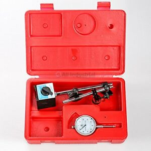 Dial Indicator Set Test 001 With On Off Magnetic Base Supply Magnetic Machinists