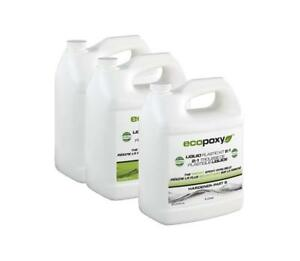 Ecopoxy 2 1 Ratio Liquid Plastic Kit 12 L Epoxy River Table Art Craft Wood New