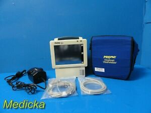 Welch Allyn Propaq Cs 246 Monitor co2 Spo2 Nbp Ibp Ekg W New Battery 17709