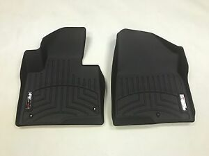 Weathertech Custom Car Truck Floor Mat Floorliner 444401 1st Row Black