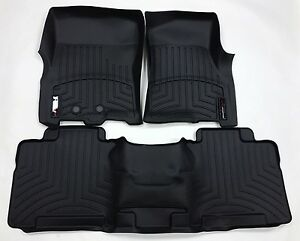Weathertech Floorliner For Ford Expedition W 2nd Row 2011 2017 Black
