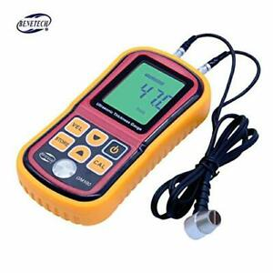 Benetech Gm100 Digital Lcd Display Ultrasonic Thickness Gauge Metal Testering