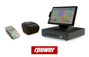 Restaurant Point Of Sale System Rpower Pos Hardware Bundle W Payments Pinpad