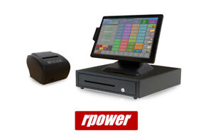 Restaurant Point Of Sale System Rpower Pos Hardware Bundle W Two Line Display