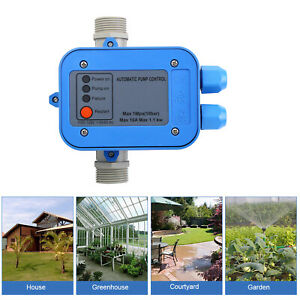 Automatic Electronic Switch Control Water Pump Pressure Controller 110 120v 750w
