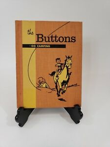 The Buttons Go Camping Children S Story Book Family Adventure 1960 Hback Antiqu