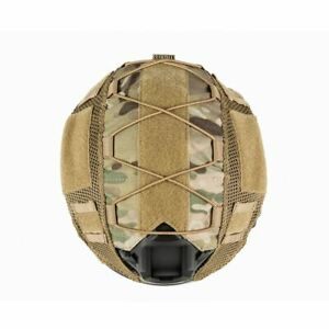 Tactical Multicam Helmet Cover Military Ops-Core FAST PJ Helmet Safety Equipment