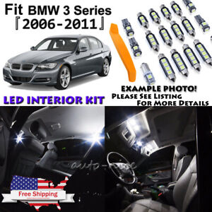 15x Error Free White Led Interior Light Package Kit For Bmw E90 E91 E92 3 Series