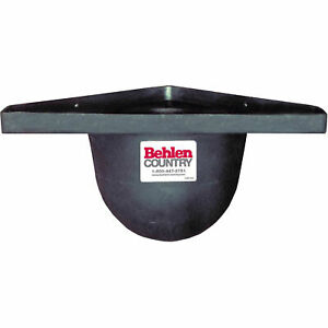 Poly Horse Grain Stall Feeder With Round Edges 10 d From Wall Lot Of 1