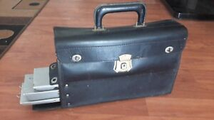 Vintage Rare Doctor S Medical Leather Bag Cowhide