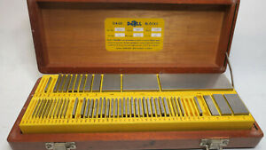 Do all Grade A 63 piece Gage Gauge Block Set 010 To 4 In 54 r missing