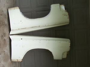 Mopar 65 Coronet Front Fenders Pair Left And Right 1965 Dodge 440 500