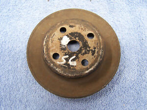 Mopar A C Single Groove Water Pump Pulley 5 1 8 X 1 1 4