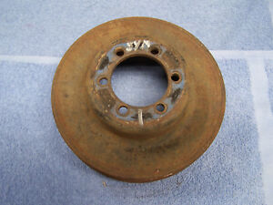Mopar Big Block A c 4 Groove Crankshaft Pulley Symmetrical Bolt Pattern 383 440