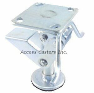 8pstfl 8 Floor Lock With Handle Foot Operated 3 15 16 X 4 1 2 Top Plate