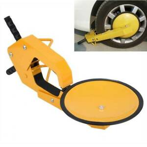 Wheel Lock Clamp Boot Parking Tire Claw Trailer Car Truck Anti Theft Heavy Duty