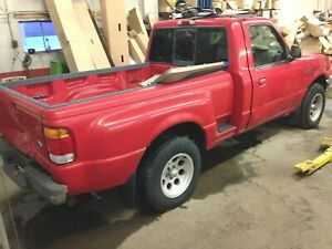 1998 Ford Ranger Tail Gate Top Moulding Mf87b 8341018 Aa 1998 2004