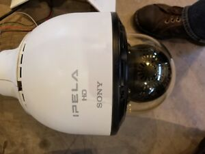Sony Snc Rh164 Ipela Vrapid Dome Camera With Arm Mount Ptz