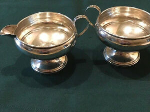 Revere Silversmiths Sterling Silver Cream And Sugar Set 532