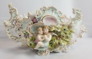 Unusual 19th Century Volkstedt German Porcelain Figurine