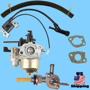 Wen Carburetor W Shutoff Right Petcock Coil For Wp31 3100 208cc Pressure Washer