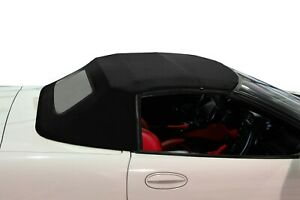 1998 2004 Corvette C5 Convertible Top Black Twillfast Ii With Glass And Defogger