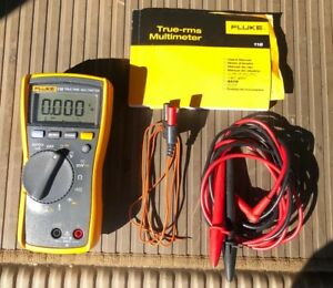 Fluke 116 Trms Multimeter Excellent With Leads And Probe Nice