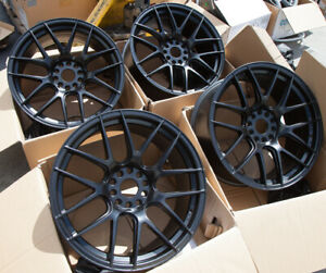 Used 19x8 75 Xxr 530 5x114 3 120 35 Black Rims Fits Accord Altima Maxima