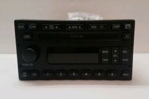 Ford Expedition F150 F250 F350 Explorer Radio 6 Cd Disc Head Unit Stereo