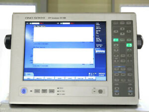 Ono Sokki Cf 7200 Portable 2ch Fft Analyzer Data Palette
