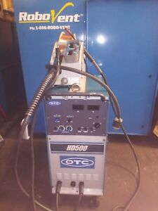 Otc Hd500 Arc Welding Machine With 15 Ft Remote Pendant