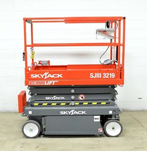 New 2019 Skyjack Sjiii 3219 19 Scissor Lift 24 Working Height