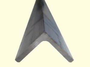 Aluminum Angle 3 16 X 1 1 2 X 8 Ft Length Unpolished Alloy 6061 90 Stock
