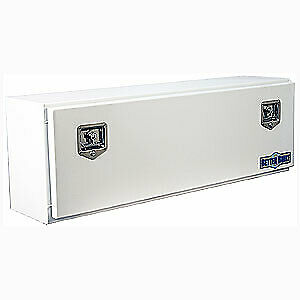 Better Built 64210149 Top Mount Box White Powder Coated Steel 48 Long 12 Wide 16