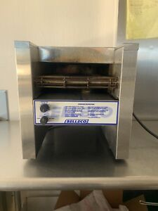 Belleco Jt2 b Countertop Commercial Conveyor Toaster Bagel Bun 1200 Slice hr