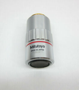 Mitutoyo Objective Lens M Plan Apo 5x 0 14 0 F 200 S n p70553411