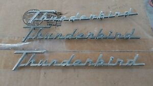 1955 1956 Ford Thunderbird Quarter Panel Thunderbird Script original Ford Parts