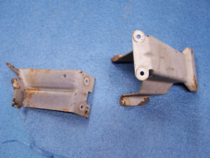 Mopar 64 65 A body Console Shifter Brackets Mounts Dart Barracuda