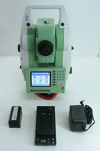 Leica Tcrp1203 3 R400 Robotic Total Station For Surveying One Month Warranty