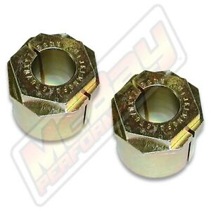 Extreme Camber Caster Alignment Bushing Kit 2005 2019 Ford F250 F350 Super Duty
