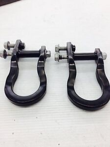 2007 2018 Gm Chevy Silverado Gmc Sierra 1500 Series Black Factory Tow Hooks
