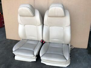 2011 Bmw 550i F07 Gt Front Leather Bucket Seats W Heat Full Power Cooling