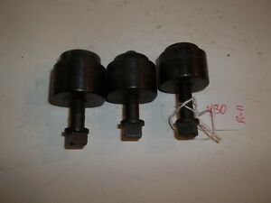 3 Pcs Greenlee Knockout Punch U s a