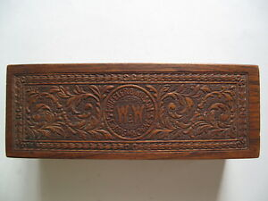 Antique Wheeler And Wilson Sewing Machine Accessory Box