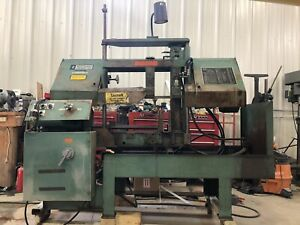 Wf Wells Twin Column W 10 Manual Horizontal Band Saw 5 000 Lb Capacity