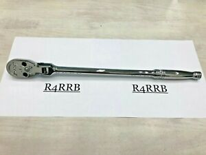 New 2017 Snap On Tools Usa 1 2 Drive Standard Flex Head Fine Tooth Ratchet Sf80a