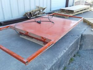 Presto Lift Table 110 x48 With Welded Extensions Originally 60x48 Works Great