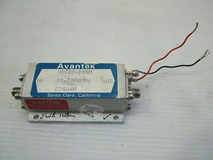 Rf Amplifier 10mhz 1000mhz Gain 24db Po 11dbm 15v Sma Utc12 105m Patentix
